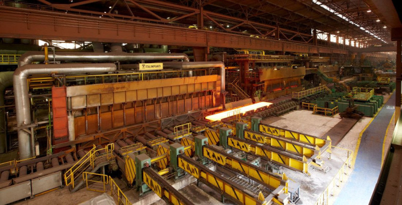 The steel company is testing the use of RFID technology in its hot rolling mill.