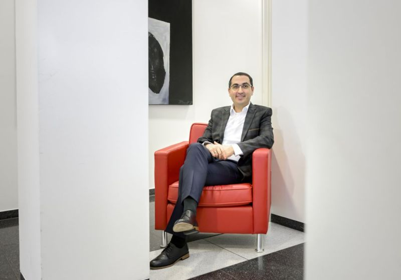 Fatih Özdemir has been renting an office in the World Trade Center in Bremen Airport-City since January 2018