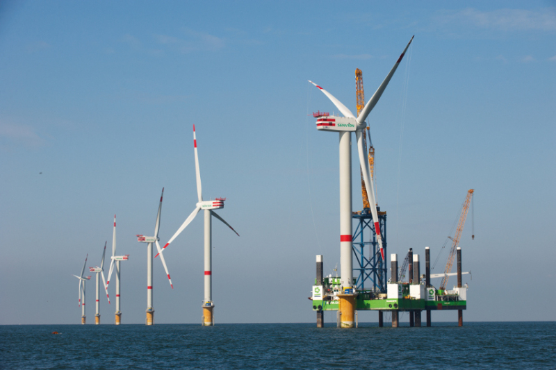Der Windpark Alpha Ventus von Senvion