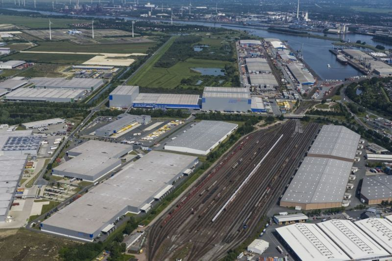 GVZ Cargo Distribution Center from above