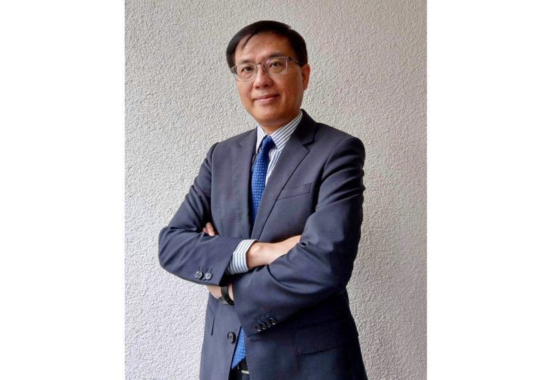 Joe Chou, Direktor des Taiwan Trade Center in Düsseldorf