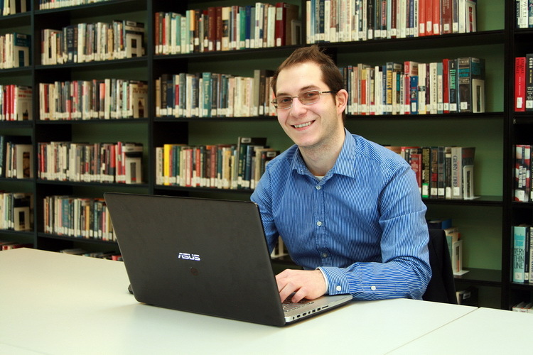Antonius Hegyes, a student of computer science at Jacobs University