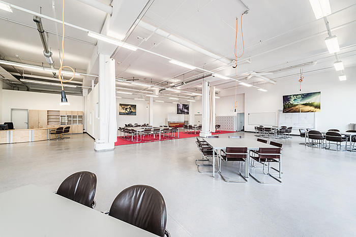 Co-working at kraftwerk – city accelerator