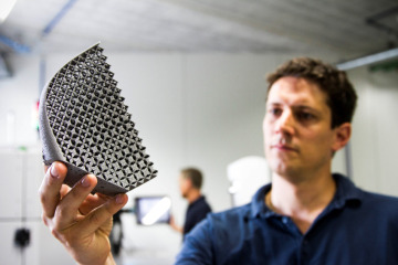 3D-printed titanium from Materialise
