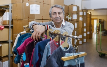 Kemal Bektas, the managing director of Leela Cotton, has worked in the textile industry since 1993