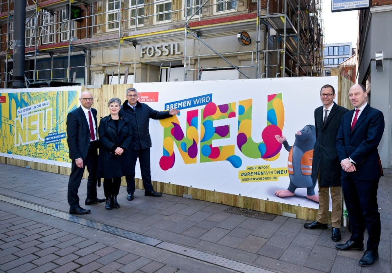 Launching the 'Bremen wird neu' campaign