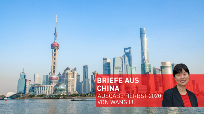 Titelbild Briefe aus China / Shanghai