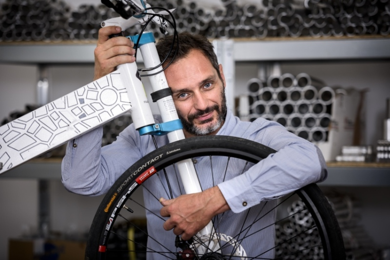 Stasinopoulos is passionate about bicycles and design.