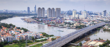 The commercial heart of the country: Ho Chi Minh City
