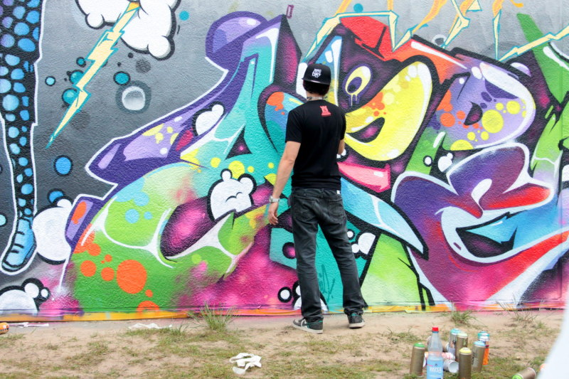 Luckywalls Graffiti