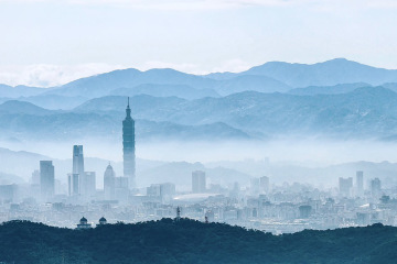 Taipei, the capital of Taiwan
