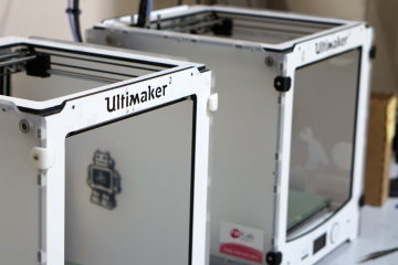 Two Ultimaker 3D printers let you give your imagination free rein