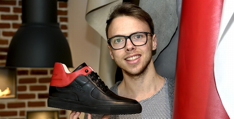 BLNKS: Leder-Sneaker in individuellem Design